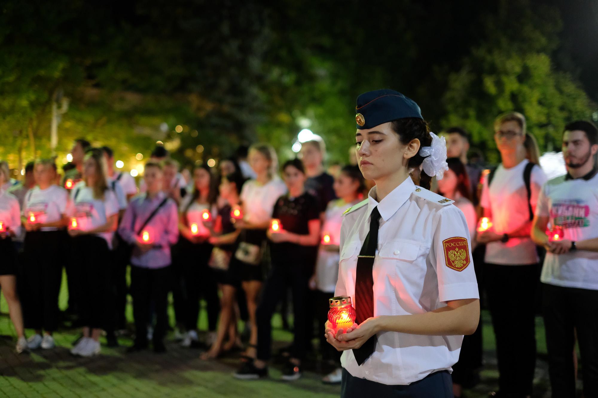 Краснодарская акция памяти о трагедии в Беслане