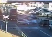 В Туапсе иномарка протаранила полицейскую машину