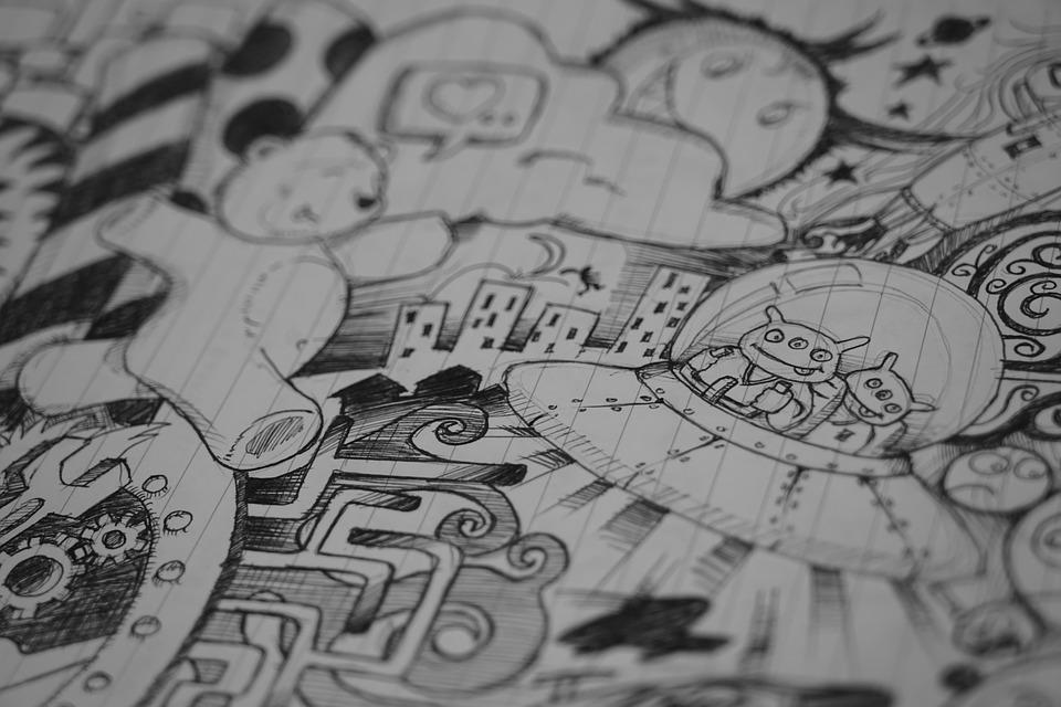 Что означают каракули, которые вы рисуете на совещаниях?