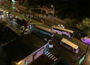 В Краснодаре из-за ДТП с автобусом образовалась пробка на Кубанской набережной