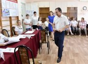 Кондратьев принял участие в выборах депутатов в Динском районе