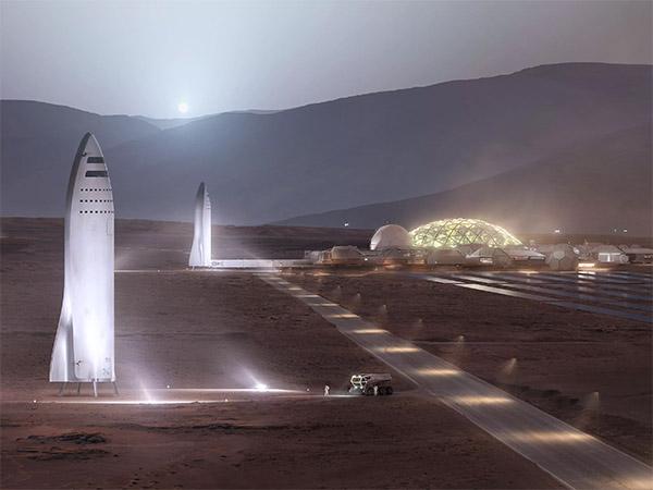 NASA и SpaceX ищут места чтобы высадиться на Марс. Когда-нибудь…