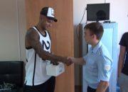 Полиция вернула игроку ФК «Краснодар» Ари похищенные наручные часы