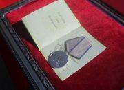 В Краснодаре прапорщику Росгвардии вручили медаль «За отвагу»