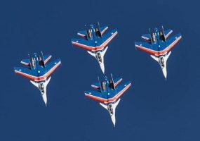 В Новороссийске перенесли начало авиашоу «Русских витязей»