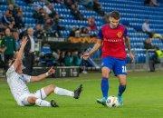 ФК «Краснодар» с разгромным счетом проиграл «Базелю» в матче группового этапа ЛЕ