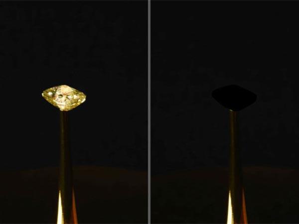 На 99,9% черный: ученые случайно нашли самый темный материал в мире