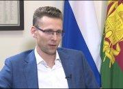 Интервью с врио руководителя департамента инвестиций края Виталием Вороновым
