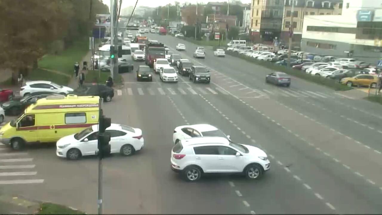 Видео ДТП в Краснодаре за 19.10.19