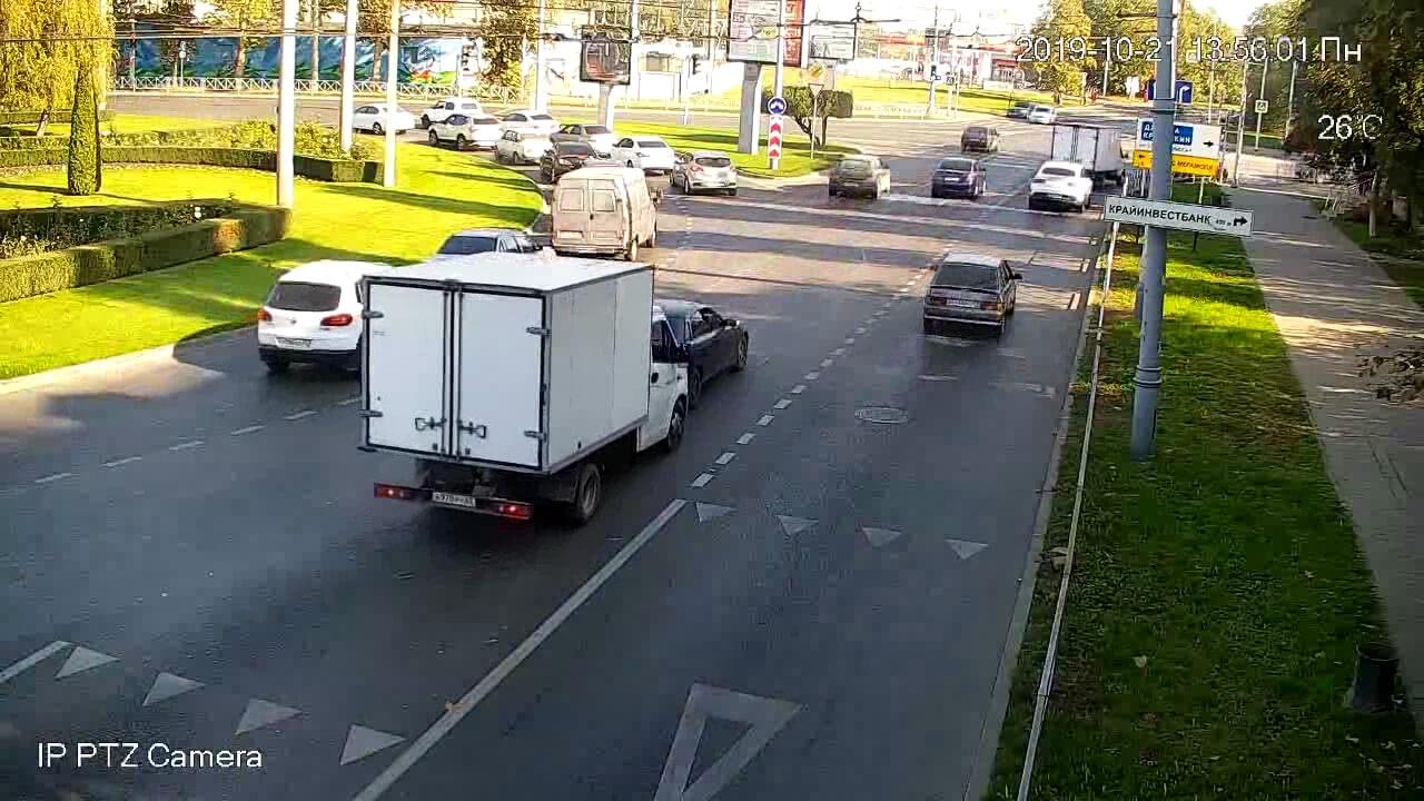 Видео ДТП в Краснодаре за 21.10.19