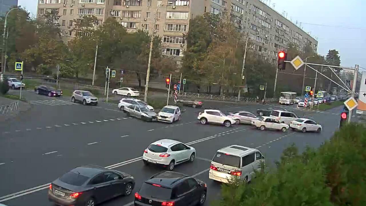 Видео ДТП в Краснодаре за 28.10.19