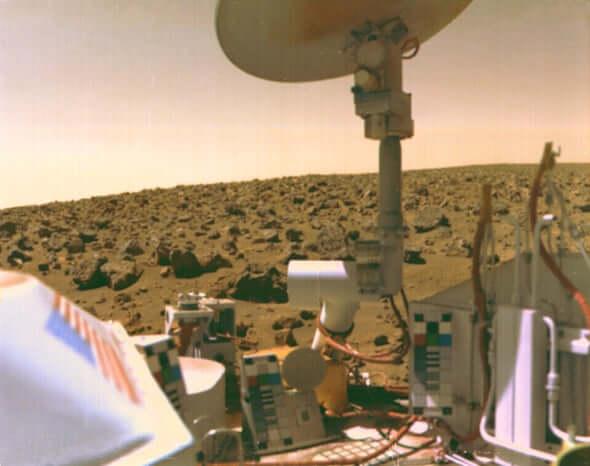 жизнь на марсе, NASA