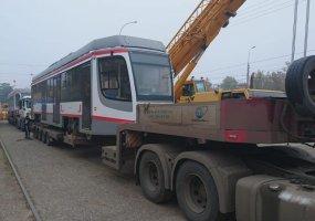 В Краснодар прибыли еще два трамвая и один троллейбус