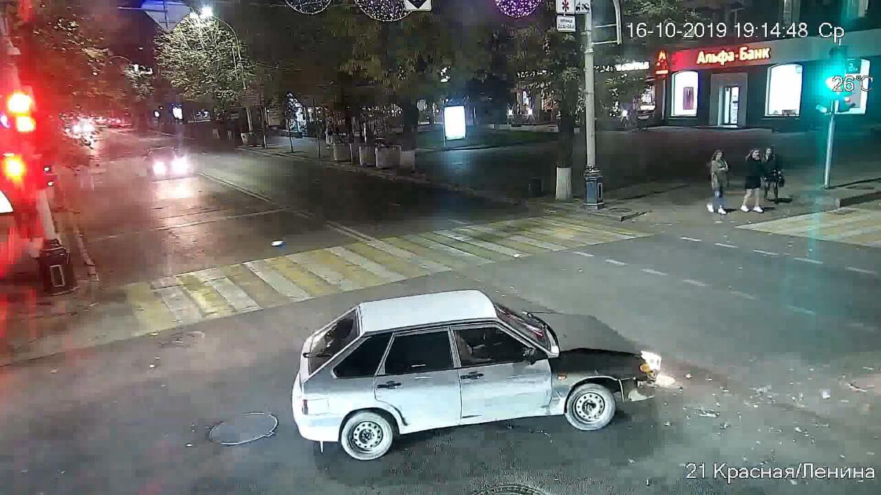 Видео ДТП в Краснодаре за 16.10.19