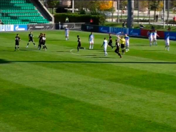 Юношеская команда ФК «Краснодар» сыграла с командой «Мастер-Сатурн»