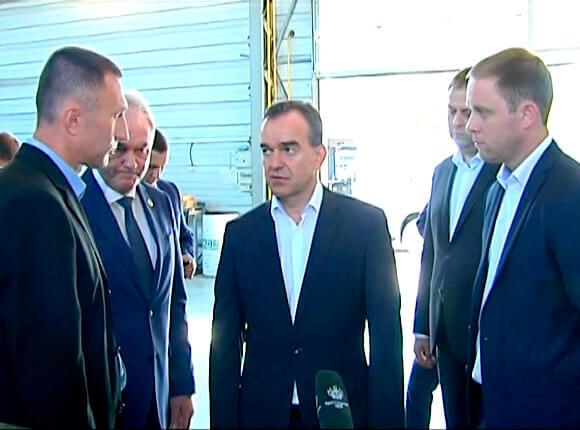 Вениамин Кондратьев оценил промышленный потенциал Курганинского района