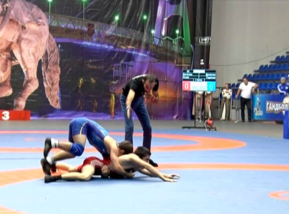 Как в Краснодаре прошел турнир по вольной борьбе памяти Бесика Кудухова