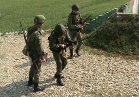 Военные разных подразделений ЮВО сдали итоговую проверку за 2019 год