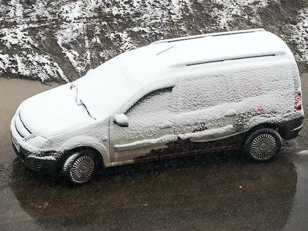автомобиль к зиме