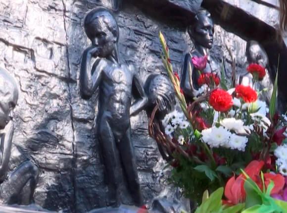 В Ейске почтили память 214 детей-инвалидов, замученных фашистами