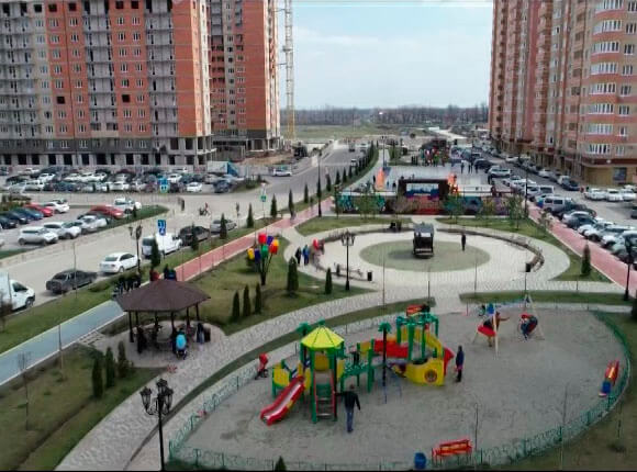 В Краснодаре новоселы получили ключи от квартир в микрорайоне «Губернский»