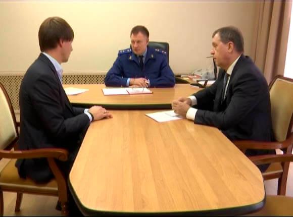 В Курганинском районе прокурор края и бизнес-омбудсмен провели прием граждан