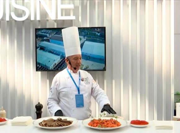В Сочи гостей форума «Россия — Африка» угостили запеканкой из кубанских овощей