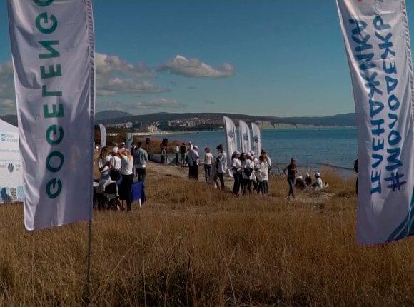 В Геленджике стартовал экомарафон «Чистые берега Краснодарского края»