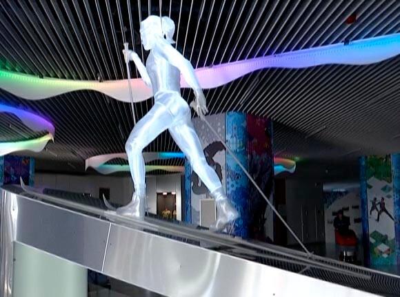 В Сочи открылся «Парк ледяных скульптур»