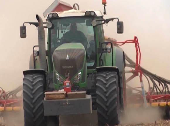 На Кубани озимыми ячменем и пшеницей засеяли уже более 1 млн га