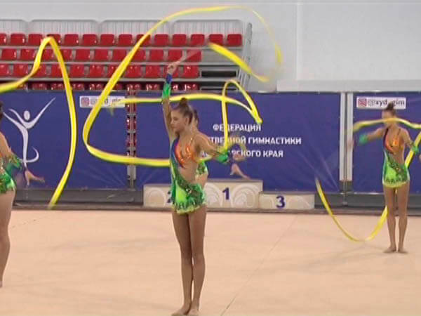 В Краснодаре прошел Кубок Краснодарского края по художественной гимнастике