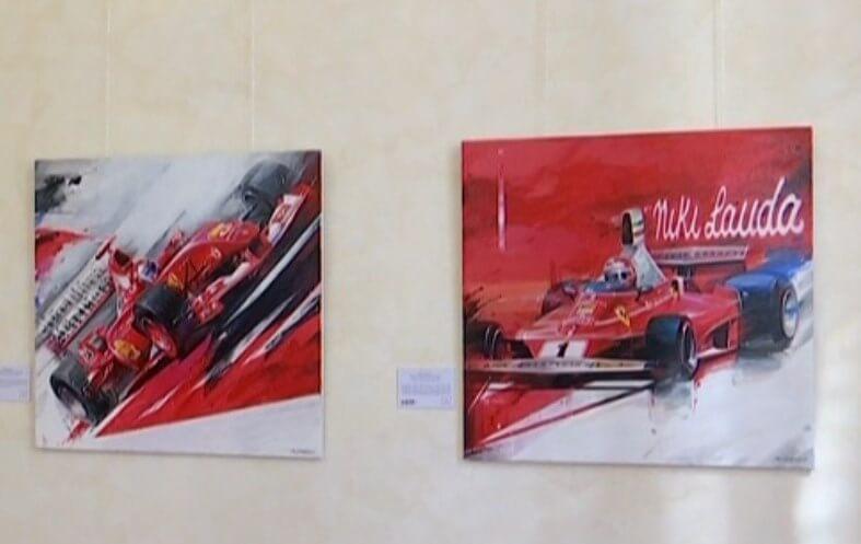 Болиды «Формулы-1» переехали в Сочинский художественный музей