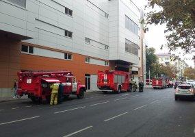В ТЦ «Галерея Краснодар» посетитель нажал тревожную кнопку и вызвал пожарных