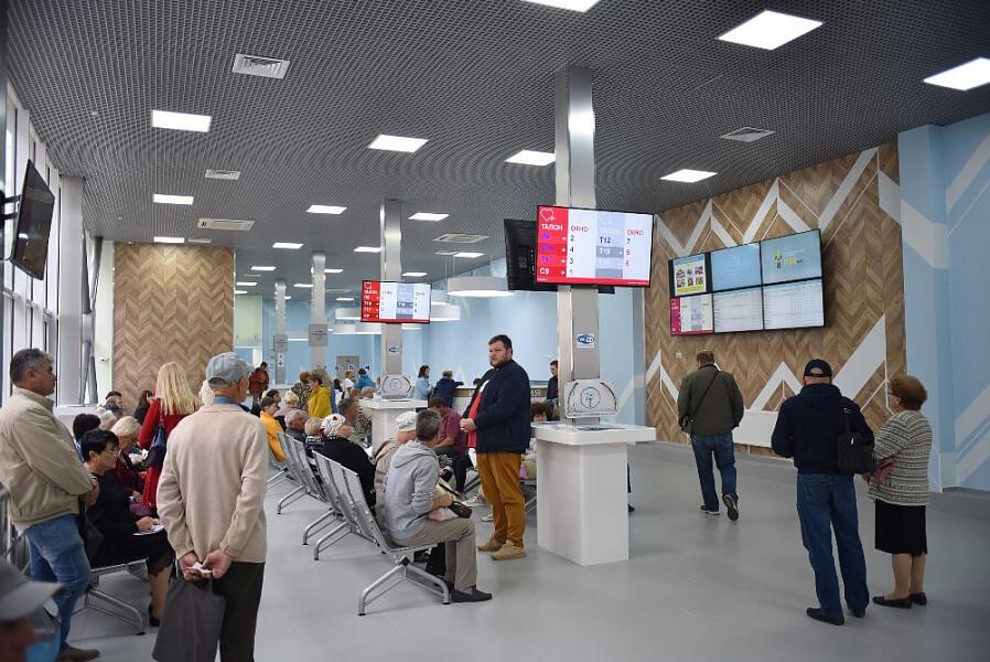 Wi-Fi и электронная очередь: новая регистратура в краснодарском онкодиспансере