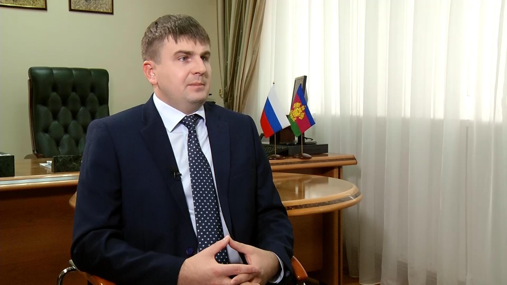 Интервью с руководителем департамента ветеринарии Кубани Романом Кривоносом