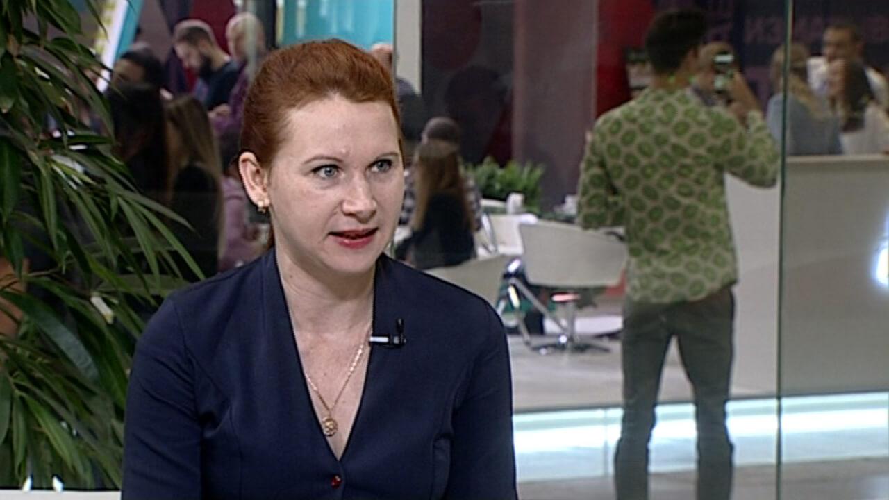 Интервью c Анжеликой Куминовой на форуме «Дело за малым»
