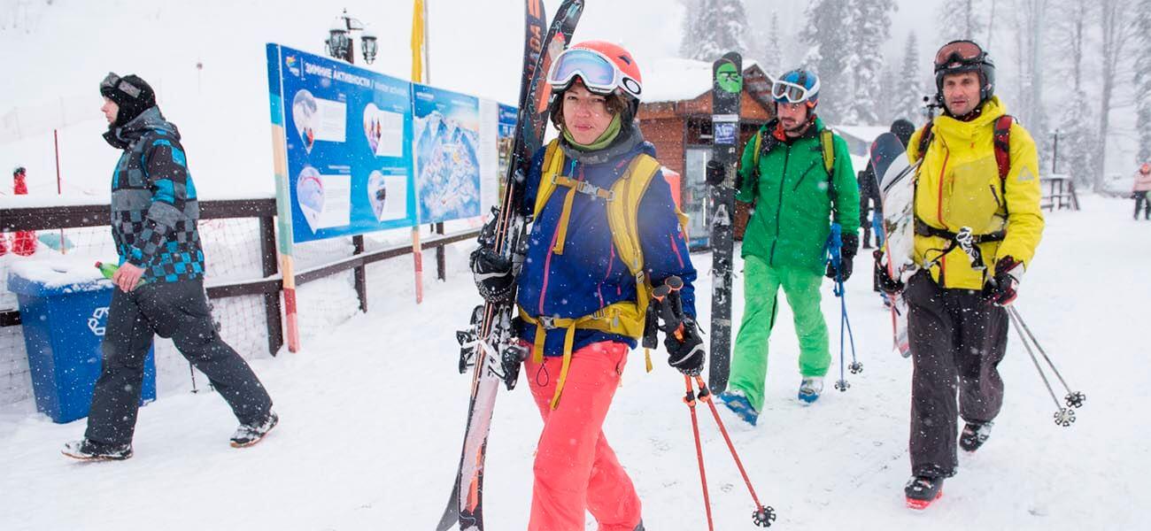 На юг ради зимнего отдыха: что предлагают горные курорты Краснодарского края?