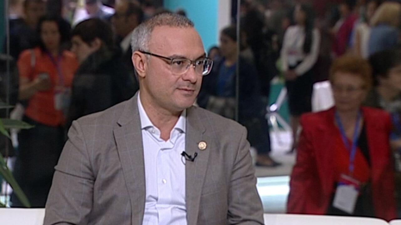 Интервью c экономистом Александром Полиди на форуме «Дело за малым»