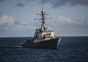 В Черное море вошел американский эсминец Porter