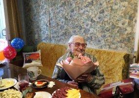 Самая пожилая спортсменка Краснодара отметила свое 102-летие