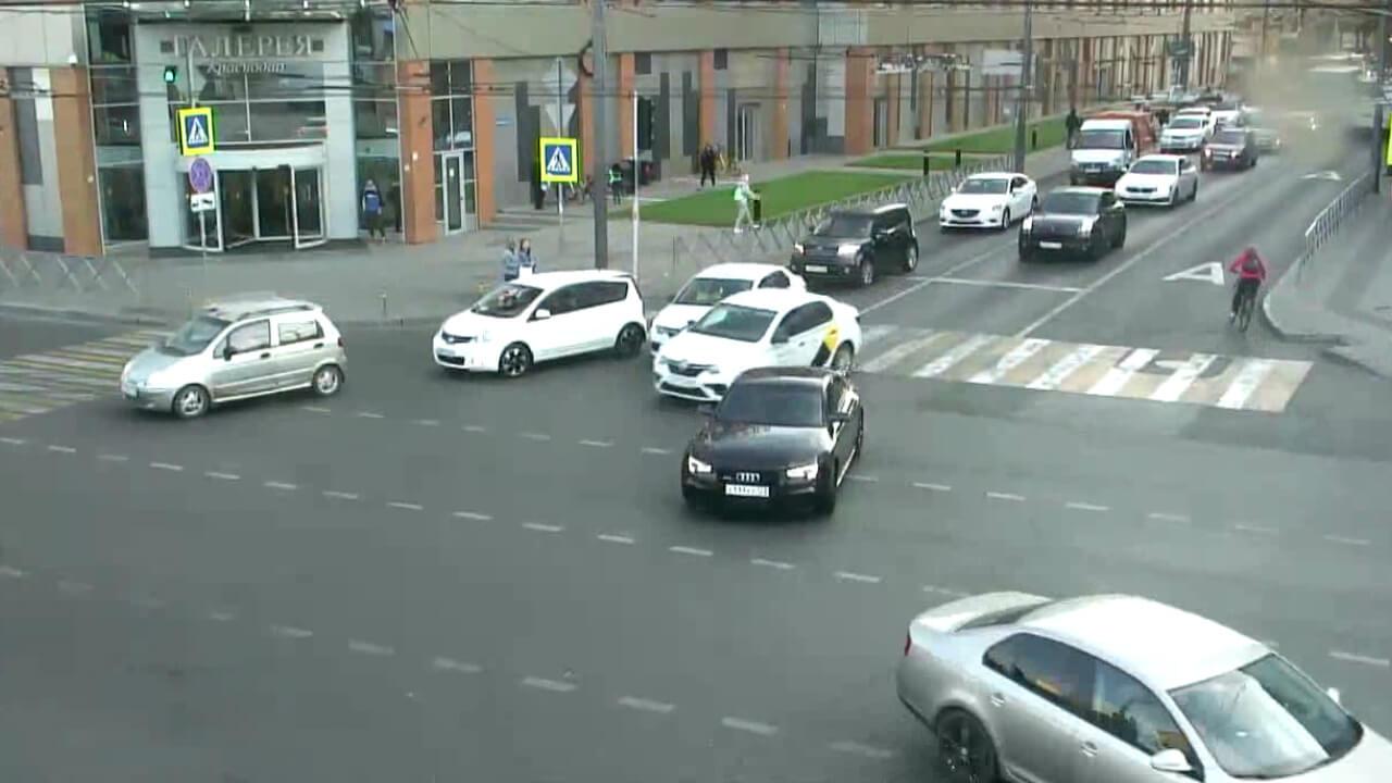 Видео ДТП в Краснодаре за 10.11.19