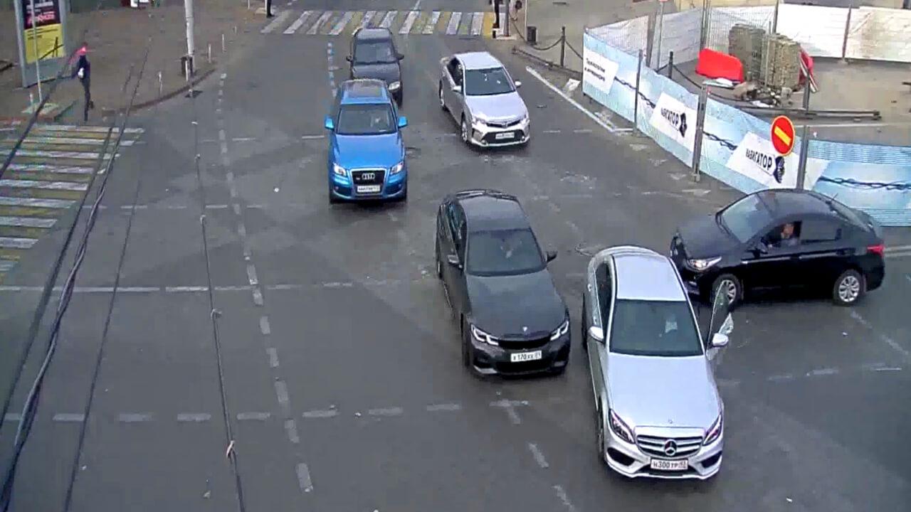 Видео ДТП в Краснодаре за 12.11.19