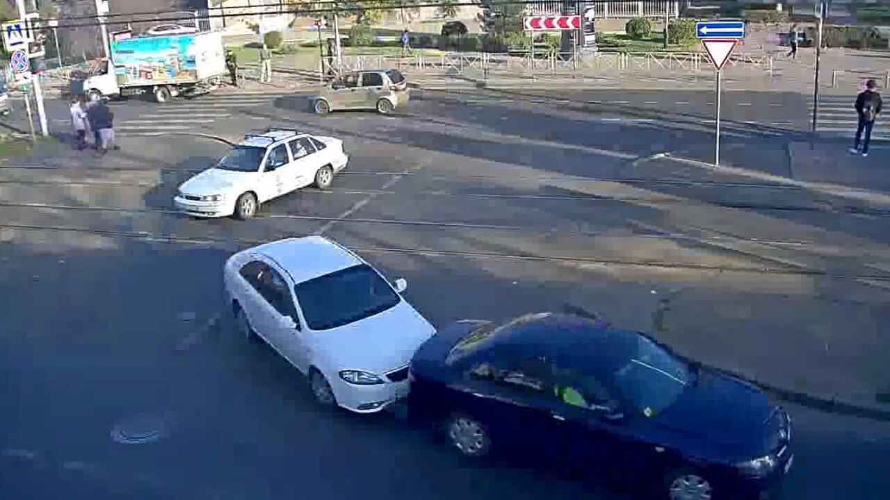 Видео ДТП в Краснодаре за 14.11.19