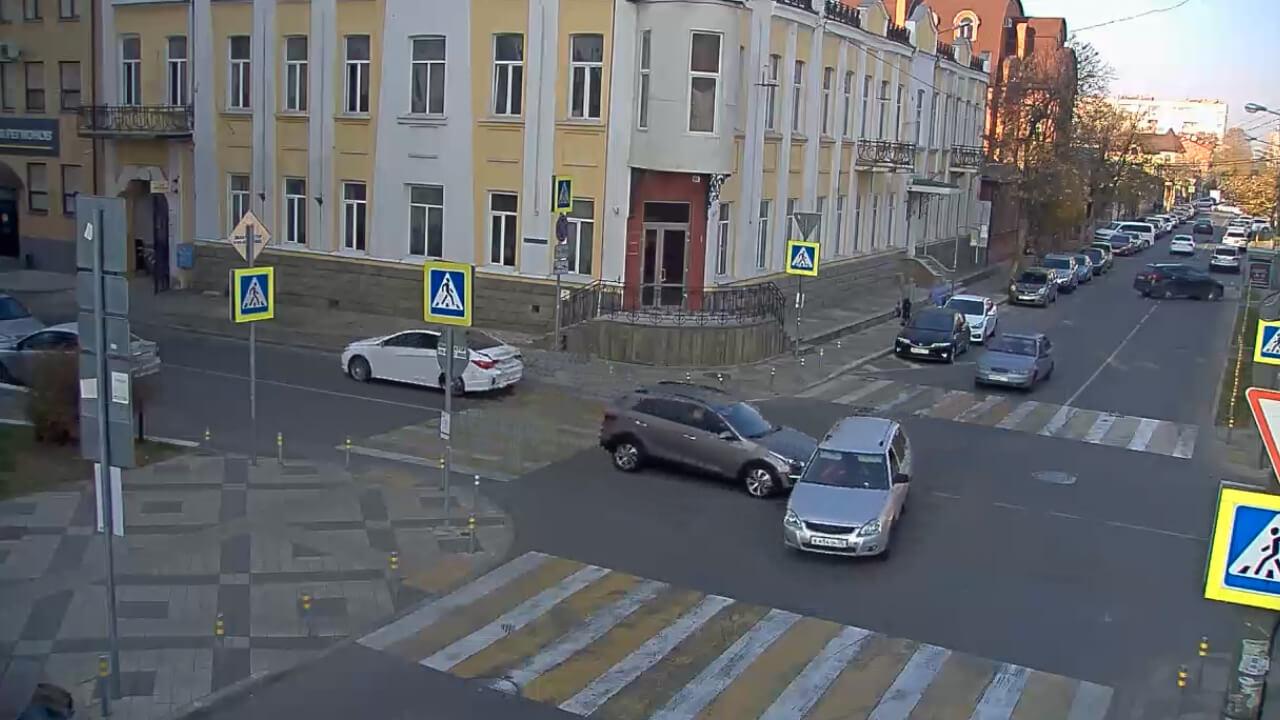 Видео ДТП в Краснодаре за 18.11.19