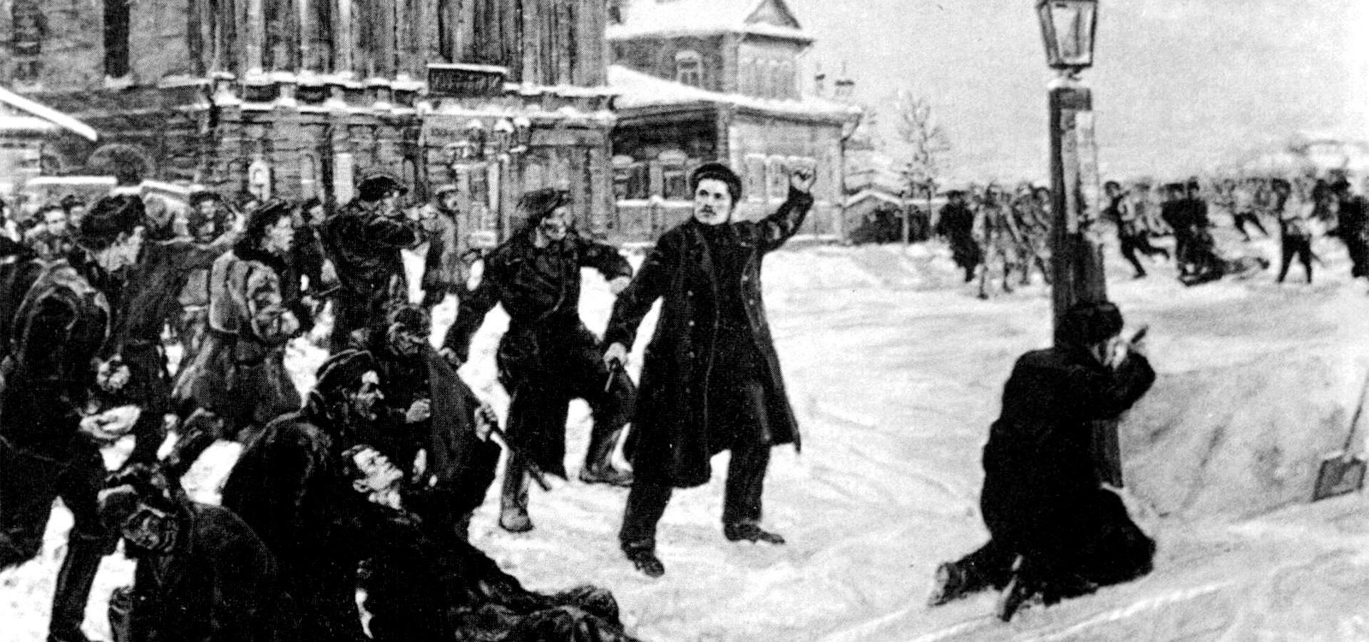 Имя в названии: Иван Бабушкин — алмаз революции