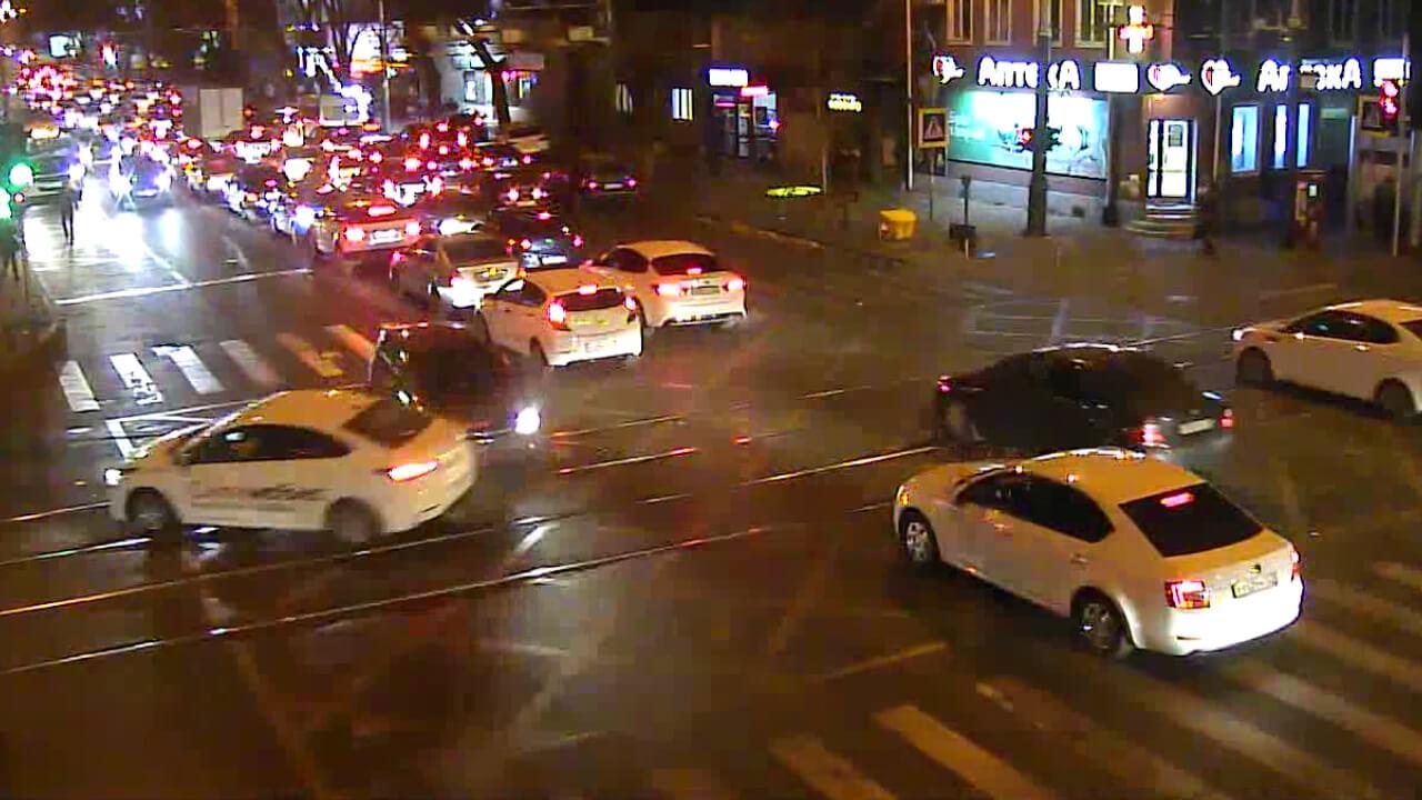 Видео ДТП в Краснодаре за 21.11.19