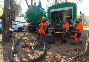 В Краснодаре прочистили около 30 км сетей ливневой канализации