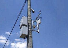 В Краснодаре установили метеостанции, заранее предупреждающие о наледи на дороге