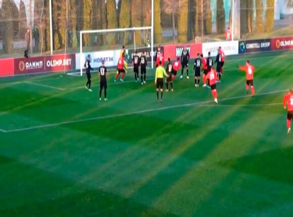 «Краснодар-2» и «Армавир» провели последние матчи ФНЛ первой части сезона