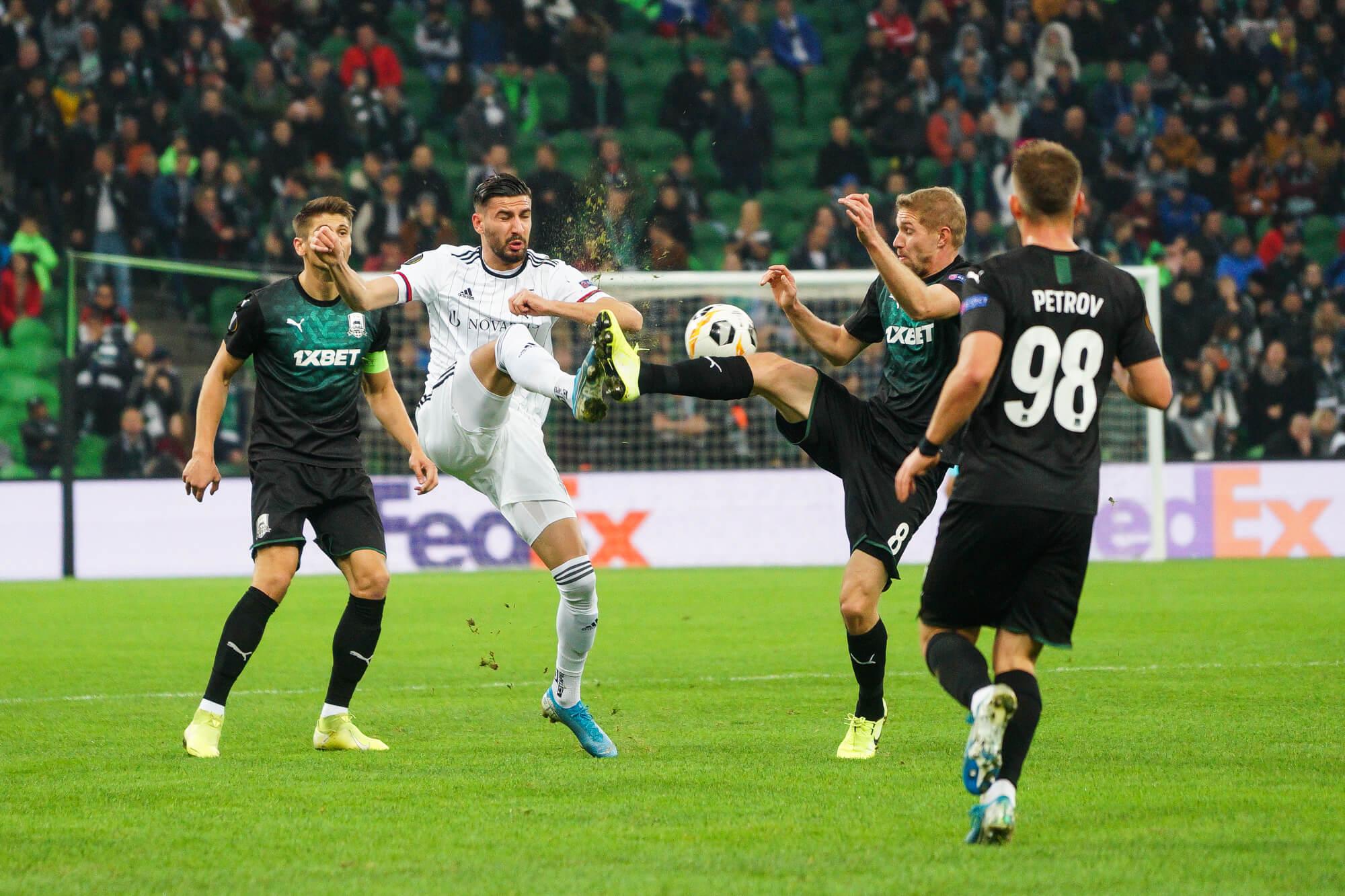 Ответный матч ФК «Краснодар» против «Базеля»